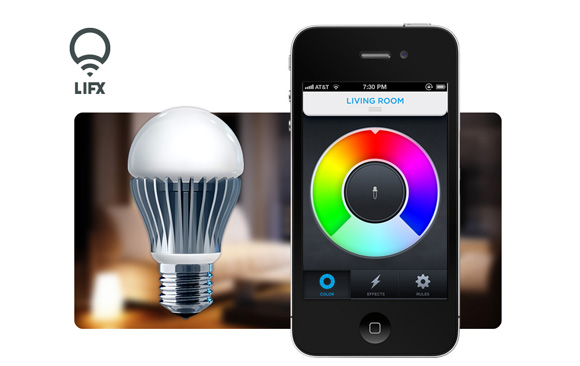 a lifx phosphorous master rgb app being colour efficient led control is energy to via routers the wifi cob connects slave light using iphone and home system other bulb lamp it controlled multi index