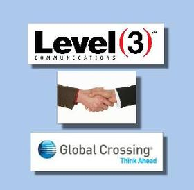 Global Crossing Crosses to Level 3
