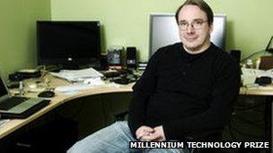 Linux Creator Wins Millennium Technology Prize