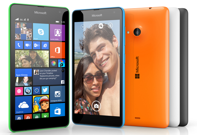 The First Microsoft-Branded Lumia