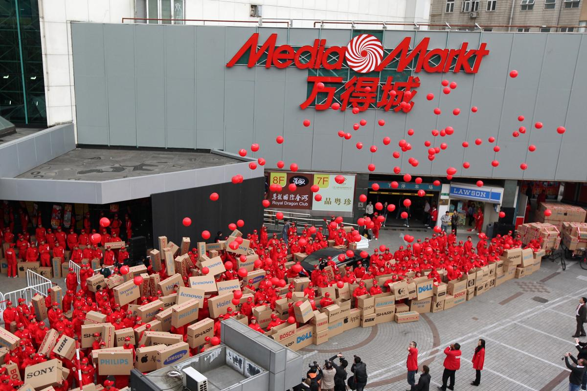 Media Markt Pulls Out of China