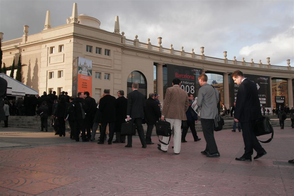 Mobile World Congress opening