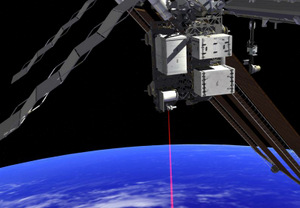 NASA Beams Video Via Laser