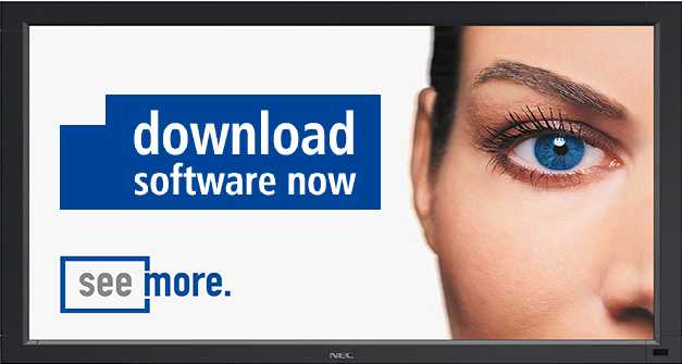 Free Digital Signage Software from NEC