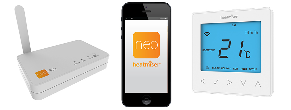Neo Smart Heating Control from Heatmiser