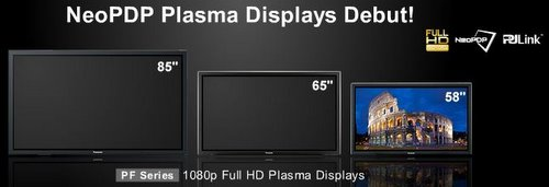 Panasonic's New 12 Series Range of Plasma Displays