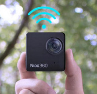 World's Smallest Consumer 360° VR Camera with 32MP