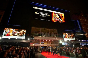 The Hunger Games: Catching Fire with Video Walls