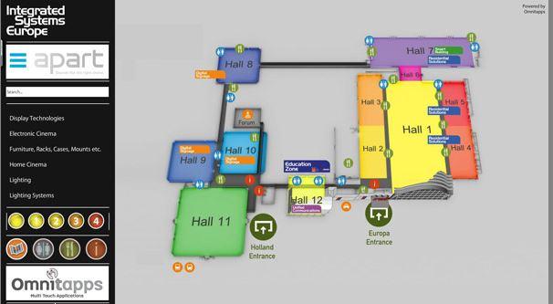 Omnitapps Indoor Way Finding & Interactive Whiteboard Software