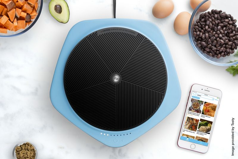 BuzzFeed Cooks With Smart Hot Plate