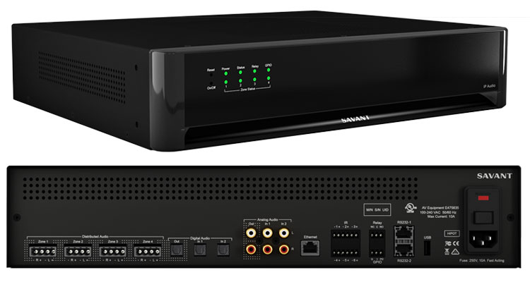 Savant Debuts AV-over-IP Line
