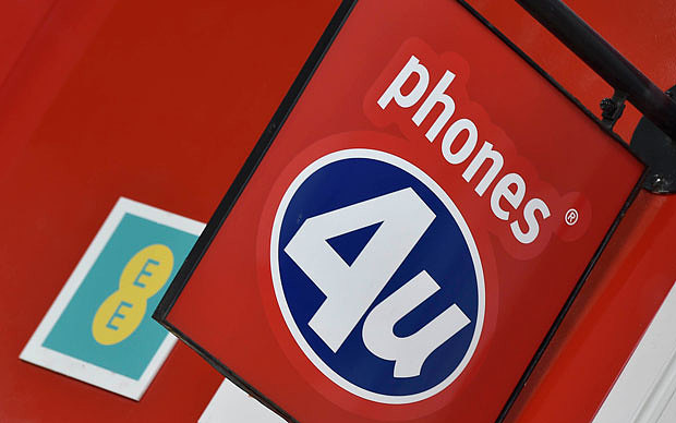 How Much Does Phones 4U Owe?