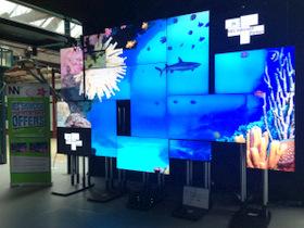 PSCo Innovation Videowall at NEC Showcase