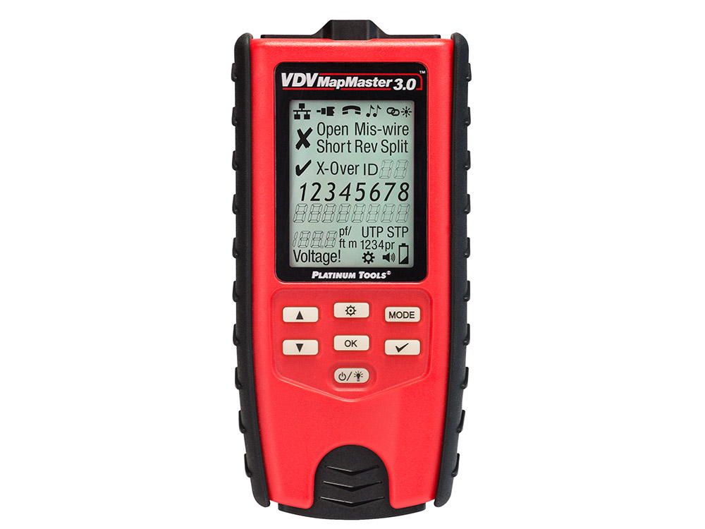 Platinum Tools Ships VDV MapMaster 3.0 Cable Tester