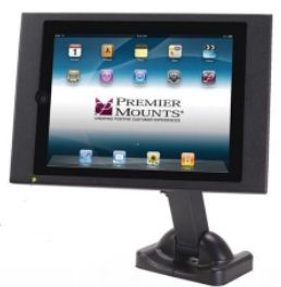 Premier Mounts VIP-100 and VIP-200 mounting frames for Apple's iPad