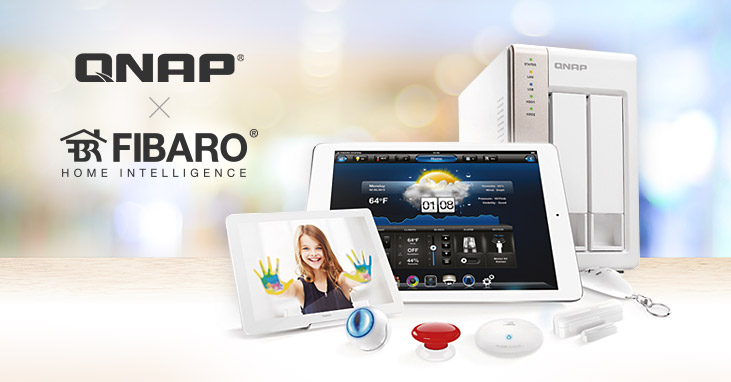 Fibaro Teams Up With QNAP
