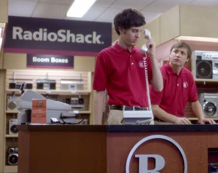 SuperBowl ad Radio Shack