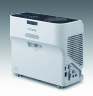 Ricoh's New Ultra Short Throw Projectors