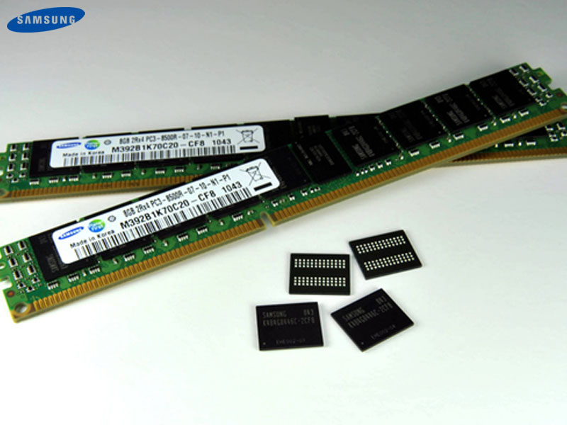 3D Memory Stacking From Samsung