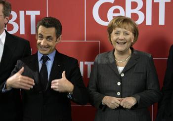 Sarkozy and Merkel