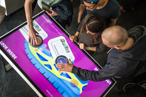 ScapePro 55 UHD Tangible Recognition Touch Table