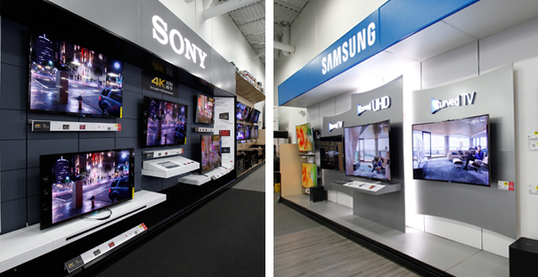 Sony, Samsung Home Theatre at Best Buy