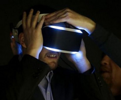 Sony's Virtual Reality Goggles