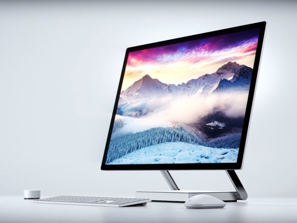 Microsoft Takes on AIO PCs With Surface Studio