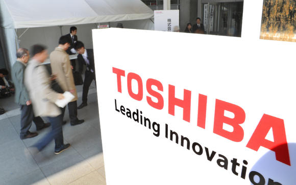 Apple, Google, Amazon in Bidding War for Toshiba NAND unit?
