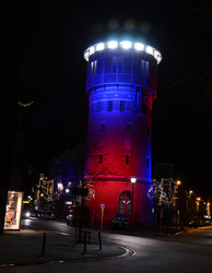 LumenRadio & Philips Brighten Belgian Water Tower