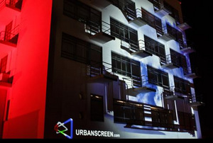 Urbanscreen: Large-scale Projection Specialist