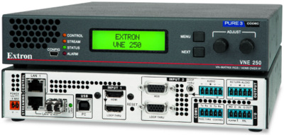 Extron Ships HDMI Streaming Encoders and Decoders, VN-Matrix 250
