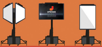 V-Towers, Portable LED Screen Support