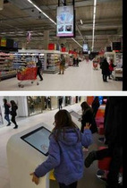 Auchan Adds 73 Screens by ViaDirect
