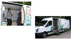 Vision Van Hits the Road with Mobile Demo