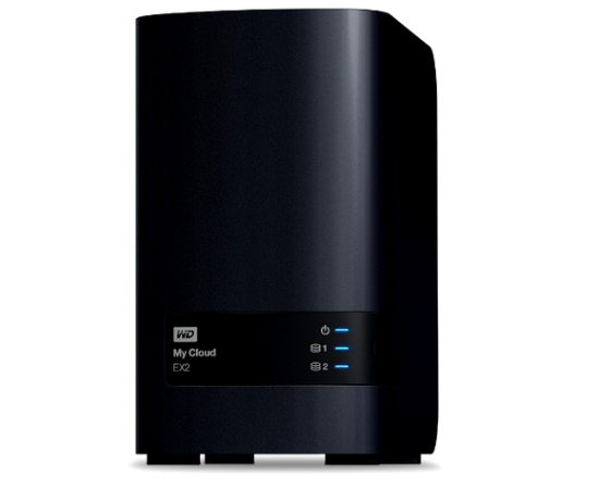 WD Intros My Cloud EX2 NAS
