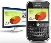 WebEx Meetings on BlackBerry