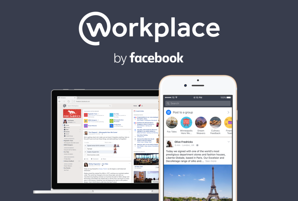 Facebook Takes on the Workplace