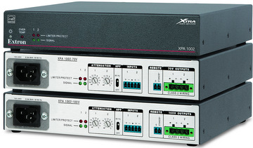 Extron: Compact 2-Channel Amplifiers for High Impedance Systems