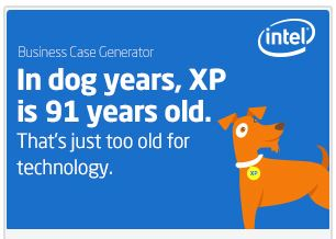 Intel and XP Dog Years