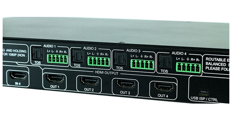 AVProConnect Claims 18Gbps 4x4 Matrix Switch for 4K