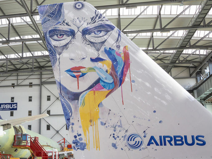 Airbus Develops Inkjet Printer… For Planes