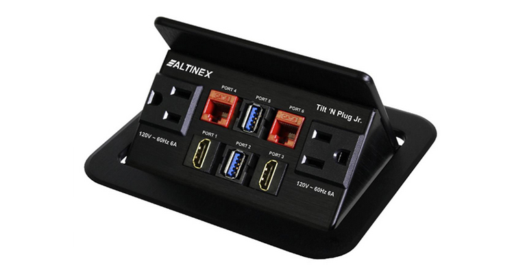 Altinex Debuts TNP327, TNP327C Interconnect Boxes