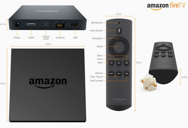 Amazon Reveals STB, Calls it Fire TV