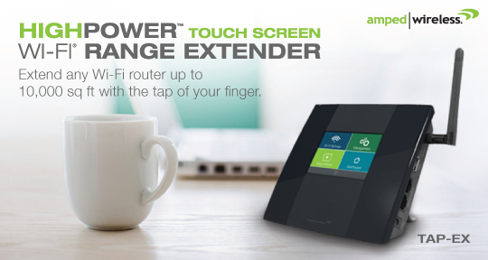 Amped Wireless Intros TAP-EX Wifi Extender