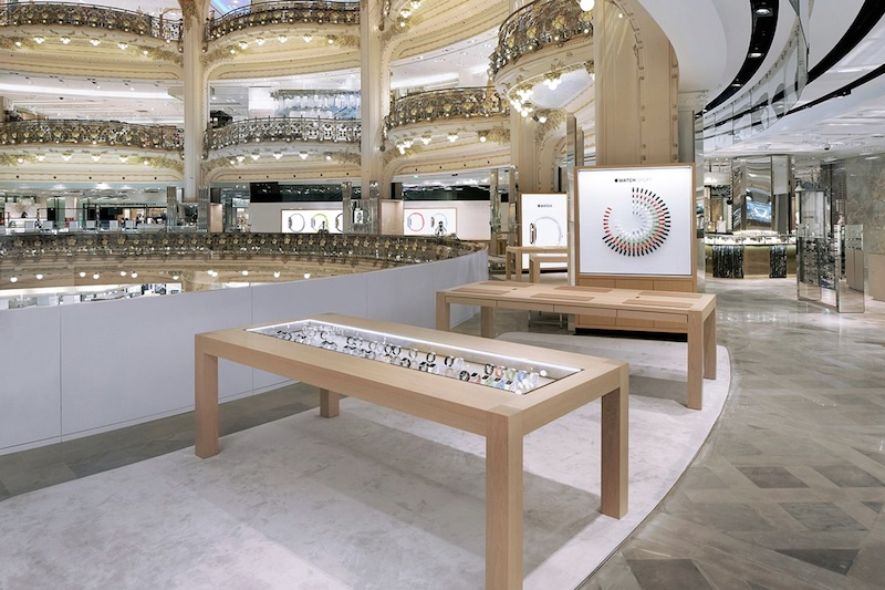 Apples Closing Galeries Lafayette Shop?