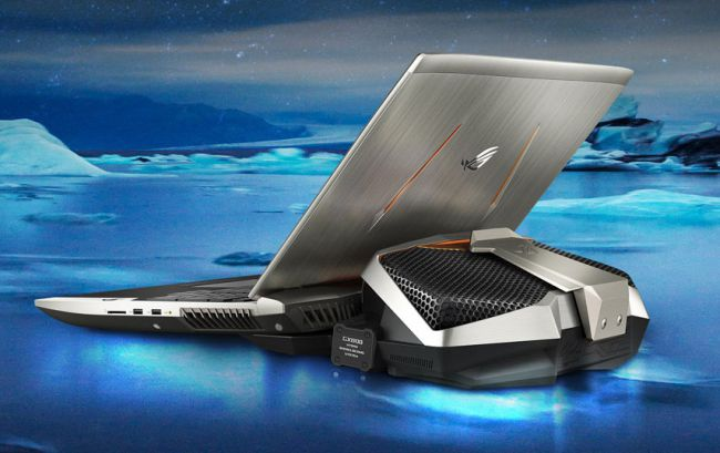 Asus Water-Cools GX800 Laptop