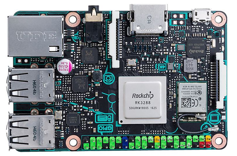 Asus Rivals Raspberry With Tinker Board