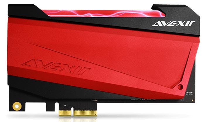 Avexir Intros Glowy SSDs