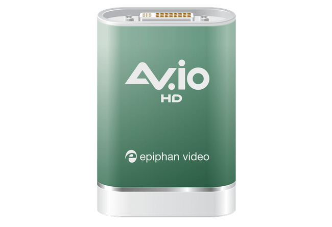 Epiphan Announces AV.io HD Video Grabber